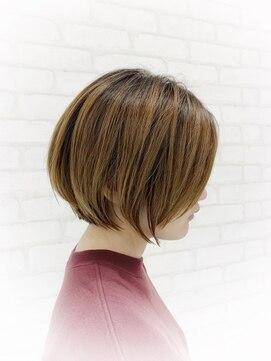 ビス ヘア アンド ビューティー 西新井店(Vis Hair&Beauty)大人かわいい/クールショート/ハイライトカラー/前髪/西新井