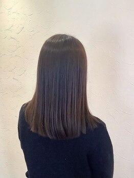 ヴィヴ(Vive)の写真/《COTAプレミークトリートメント》取り扱い◎ツヤ感UP&滑らかな手触りで髪本来の美しさを引き出します―。