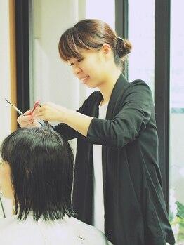 アレンジ(Arrange)の写真/女性の為の上質オーガニックサロン♪一人ひとりの髪質やお悩みに女性目線でしっかり向き合います…☆