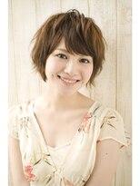 ジョエミバイアンアミ(joemi by Un ami)【joemi】☆笑顔になれる☆パーマ質感ショートヘア(大島)