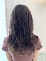 ヘアーサロン リアン 熊谷2号店(hair salon Rien)バイオレットグレージュ