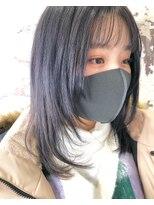 purplegrayのレイヤースタイル☆ソフト姫カット☆