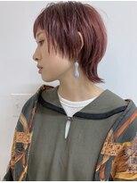 フィル(fil)マッシュウルフ/ハイトーン/ピンク