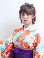 ネオリーブクアトロ 横浜西口店(Neolive quattro)卒業式 袴着付け メイク セットご予約受付中です