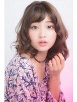 ミンクス ギンザ(MINX ginza)【MINX鈴木】フェミニン系 美肌に見えるベージュ系カラー