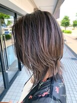 グリッター 赤塚店(GLITTER)  highlight×ash greige
