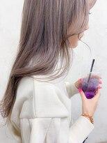 アリー(ALLY)[ALLY後藤]ラベンダーベージュ☆透明感カラー
