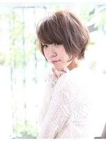 ヘアーデザイン リント(hair design Rinto)オーガニックパーマ夏のショートボブ