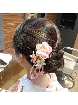 結婚式 髪型 和装 和装アップ