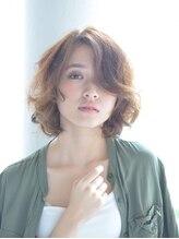 ブルーム ヘア デザイン(bloom hair design)【6月OPEN!】(人気スタイル)ナチュラルウェーブミディアム