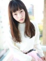 《Agu hair》☆眉上バングスタイル☆