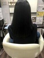 ヴィオレッタ ヘアアンドスペース(VIOLETTA hair&space)髪質改善トリートメント×暗髪ブルージュ×極上のツヤ感