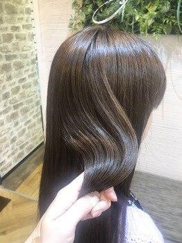 アンフィニー(Infini)の写真/当店自慢の煌水(きらすい)&TOKIOトリートメントをご用意☆毛髪復元トリートメントを体験してみては?♪
