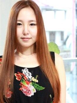 ジェンガ(jenga)の写真/【酸性ストレート◇髪質改善】髪の毛のクセやごわつきを抑えツヤ感のあるナチュラルな質感のストレートに◎