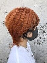 レーヴ(Reve)オレンジカラー×インナーブラック【レーヴ】