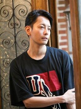 ソーエン 大分店(soen)の写真/【カット¥2400/当日予約OK!!】髪が伸びても決まる、計算されたデザイン力で男性からの人気も高い【soen】