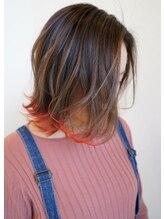 ヘアーガーデンルート(HairgardenROOT)裾カラー
