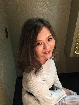 【COVO/かめ姉】 大人シースルーバレイヤージュ