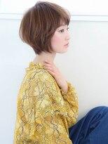 ☆厚めバング ひし形エアリーショートボブ☆