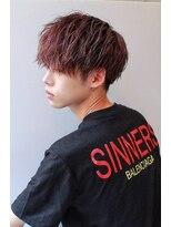 2020年冬】メンズ|レッド・ピンク系の髪型・ヘアアレンジ|人気