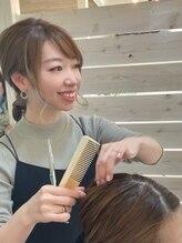 ヘアサロンアンドリラクゼーション マハナ(Hair salon&Relaxation mahana)宇都 琴美