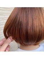 ロルド ポワール(Rold poire)【MASAYA】オレンジブラウン×マッシュボブ