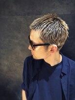 #ボウズスタイル#LIPPS#ベリーショート#メンズ髪型#金髪