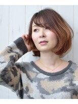 ハロ (Halo hair design)オンブレ風★ボブ