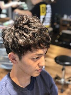 メンズヘアースパイス ユメサキ(Men's Hair SPICE -yumesaki-)無造作ショートレイヤー