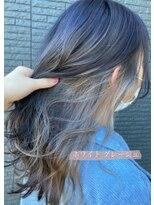 ヘアアンドビューティー クローバー(Hair&Beauty Clover)white grage