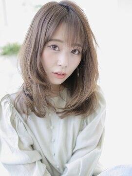 アグ ヘアー シルエ 和泉府中店(Agu hair silje)大人かわいい×くびれセミディ