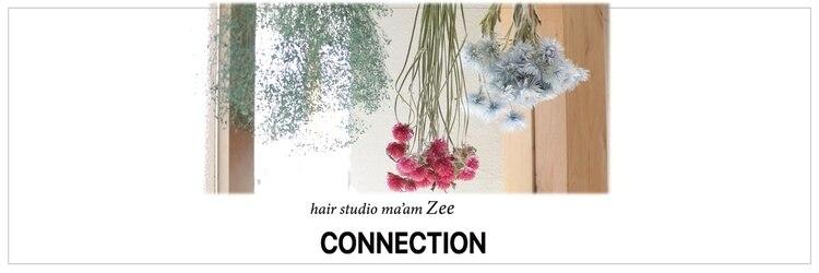 マアムジーコネクション(ma'am zee Connection.)のサロンヘッダー