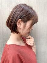 ノット(Knot)【knot阿部展大】王道かわいい小顔丸みショートボブサイド