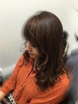 ビューティーコレクション 静岡北店大人立体感メッシュまき髪スタイル
