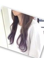 裾カラー/グラデーションカラー