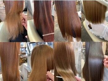 ビューティー7 セブン(Beauty7)の写真/コンプレックスを自信に変える◎その日一日で、ずっと触っていたくなるうるツヤの美髪へ導きます♪