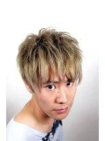 アビリティ ヘアー(ability hair)ダブルカラーショート by abilityhair