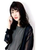 ラフィス ヘアーピュール 梅田茶屋町店(La fith hair pur)【La fith】 ナチュラルセミディスタイル