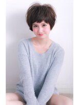 ウノプリール 梅田店(uno pulir)マニッシュショートの女っぽヘア