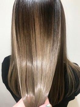 ラミ(Lamie)の写真/【髪質改善】クセ・うねりのお悩みを解決◎ダメージを抑え、なめらかでツヤのあるストレートを実現♪