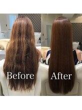 ☆艶髪が続く新発想テクノロジー【サイエンスアクア美髪チャージ】 本物の髪質改善で自分史上最高の艶髪へ