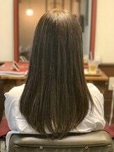 cinqこだわりのヘアデザインアイテムとサービスあります!金町初のサイエンスアクア(髪質改善)導入サロン