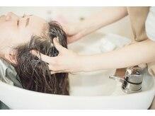 美容室 シュクラン(Shukran)の雰囲気([シャンプースペース]頭皮ケアもお任せ下さい♪)