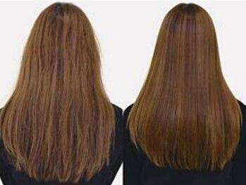 リジィー(Li Gee)の写真/【藤井寺駅5分】繰返し行うカラーやパーマなど傷んだ髪を髪質改善!いつまでも芯から美しい髪へ…《yakujo》