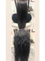コレットヘア(Colette hair)縮毛矯正-Before After-