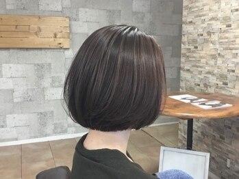 ガーデン(GARDEN)の写真/横顔、後ろ姿まで可愛い♪360°自信の持てる美シルエットなショートヘアをGET!シャープで美麗な印象に☆
