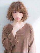 アグ ヘアー リノ 大名店(Agu hair reno)《Agu hair》ルーズウェーブショートボブ♪