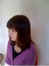 ヘアメイク アフレ(HAIR MAKE affule)ミディアムボブ