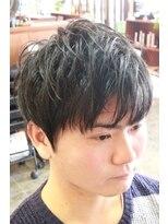 ディスパッチヘアー 甲子園店(DISPATCH HAIR)ラフマッシュ+ナチュラル2ブロ