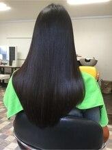 アロー ヘア(Arrow Hair)縮毛矯正にハホニコトリートメント